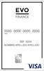 Visa EVO Finance Clásica